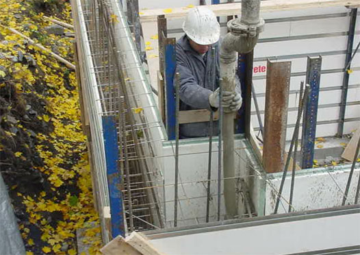 A Reinforcing Steel Wire Mesh Is Embedded Into The Big