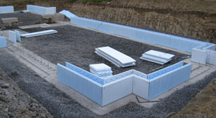 First icf course for Icf foam